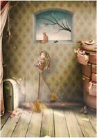 cleaning house by JenaDellaGrottaglia