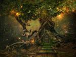 tree scape by JenaDellaGrottaglia