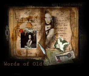 Words of Old by JenaDellaGrottaglia