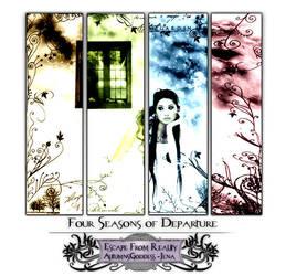 4 Seasons of Departure by JenaDellaGrottaglia