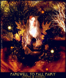 Farewell to Fall Fairy by JenaDellaGrottaglia