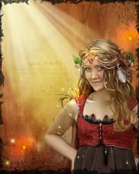 Spirit of Holly by JenaDellaGrottaglia