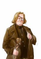 Harry Potter. Alastor Mad-Eye Moody by Loft-Lafeyson