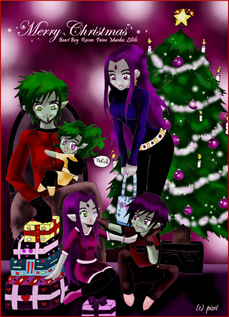 Christmas Eve - BBRae by pizet