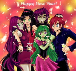 HAPPY NEW YEAR 2016 by pizet