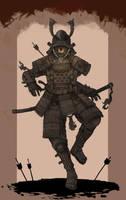 Zombie Samurai by Kogane801