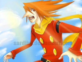 Cyborg 009 - In the Sky by Sardiini