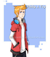 Futurama - Philip J. Fry by Sardiini