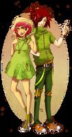 WH - Turtle Couple by Sardiini