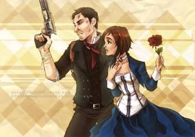 BioShock Infinite by Sardiini