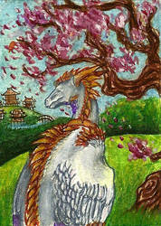 ACEO - Tir-Goldeness by SuzanneLaither