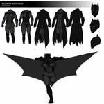 Batman REDESIGN by DomEddi