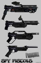 Spy Pistols 2015 by primnull