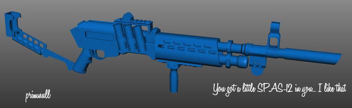 Mechanist's Shotgun WIP4 by primnull