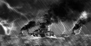 Richelieu in the Storm by BeignetBison