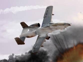 A-10 UCAV by BeignetBison