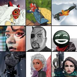 ArtVsArtist 2017-2018 by BeignetBison
