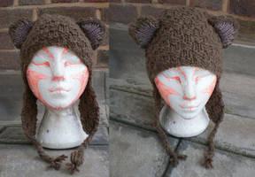 Bear hat by yarndog