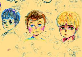 ST kid-doodles by simengt