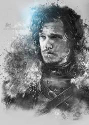 Jon Snow by Etienne-Ripzaad