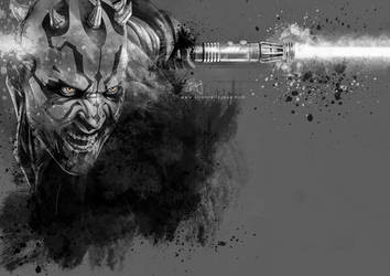 Darth Maul by Etienne-Ripzaad