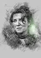 Catelyn Stark - Game of Thrones by Etienne-Ripzaad