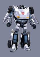 Transformers Sideswipe jazzmix by dogmeatsausage