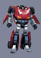 Transformers Sideswipe color by dogmeatsausage
