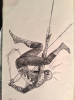 Spidey Sketch by dogmeatsausage