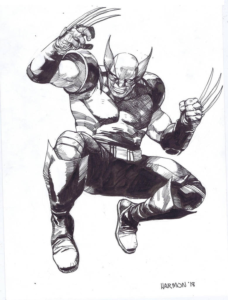 Wolverine by dogmeatsausage
