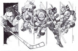 TMNT Team by dogmeatsausage