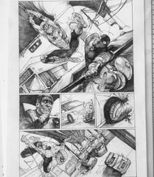 Spiderman Page 3 by dogmeatsausage