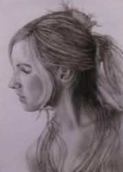 Portrait 4 by KayIglerART
