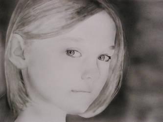 Dakota Fanning by KayIglerART