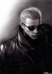 Albert Wesker - Resident Evil by KayIglerART