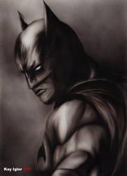 Batman (Airbrush) by KayIglerART