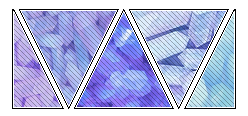 deco divider 001 - pastel crystals by 93rooms
