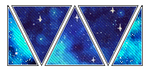deco divider 005 - blue galaxies by 93rooms