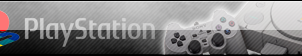Play Station One Fan button by SheviEdge