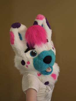 Bubbles Head Commission: Almost Complete by SoulBoundFursuits