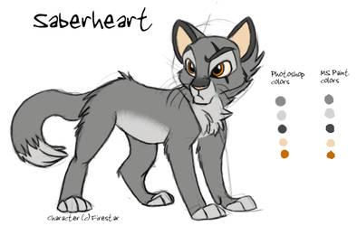 Saberheart Ref by KaiserTiger