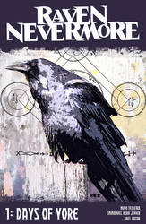 Raven Nevermore 1 Cover Concept by NunoXEI
