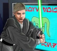Luke Skywalker NEW JEDI ORDER by Irishmile