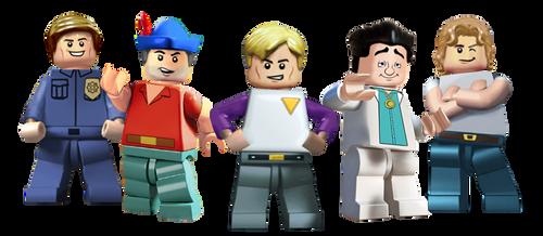 Lego Sierra Allstars by Irishmile