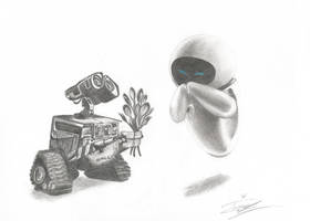WALL-E by princederek