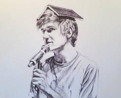 Bo Burnham (pen) by EnigmaticDoodle