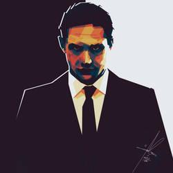 Tom Hardy by AECE7