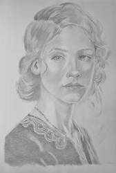 Monica a portrait study by cheyanne-mia2
