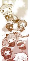 Arcana Famiglia-Dounjinshi-mitEChibi by Shima2-chan