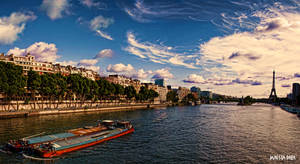 La Seine by Maesta-Dara